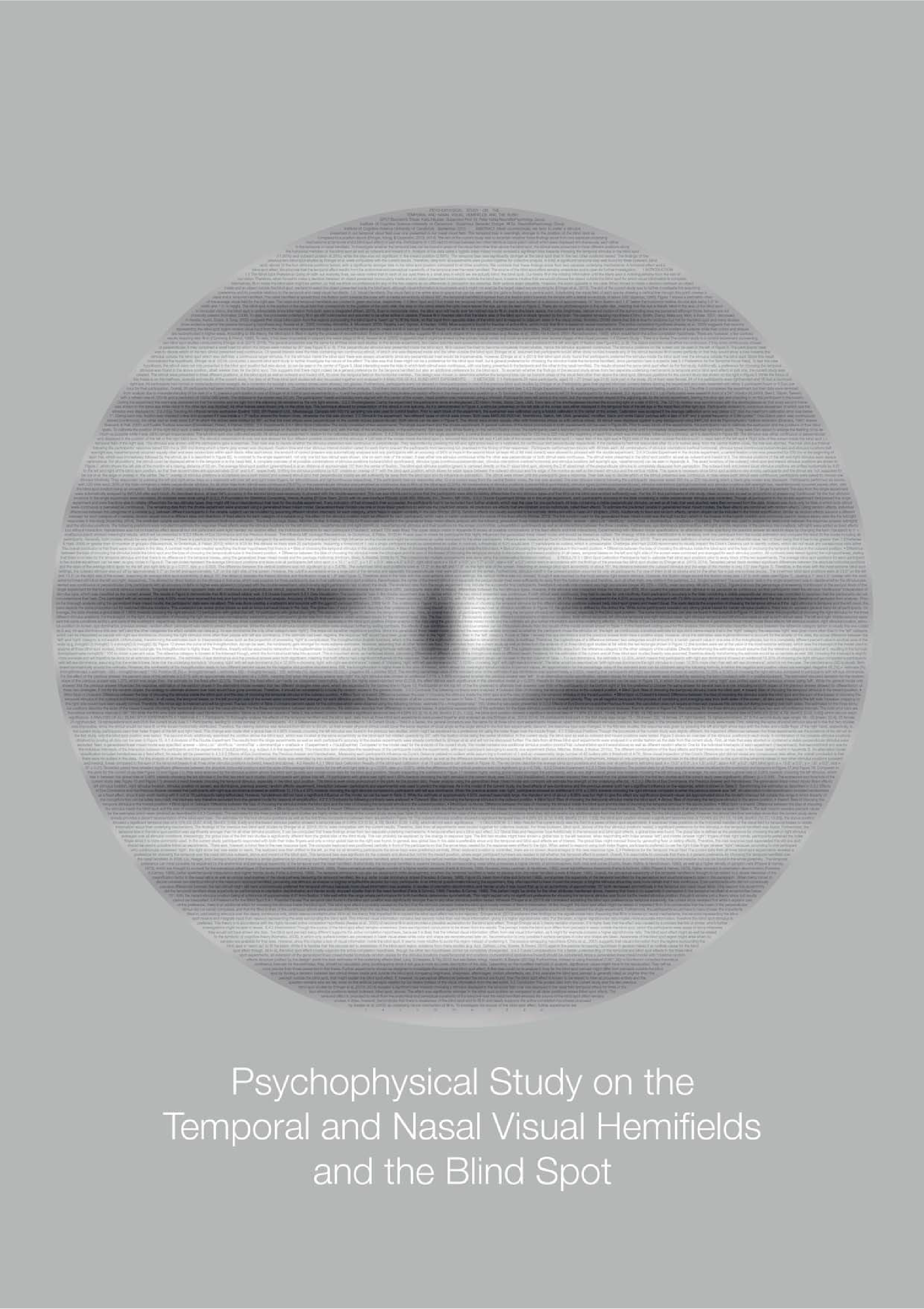 psychophysics thesis To this end, a gpu-based grid search algorithm was implemented and compared with the identical algorithm run on a single cpu chip this thesis also discusses several limitations of grid search in high-dimensional psychophysics automatic layout visualization cognitive psychology.